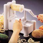 Paderno World Cuisine A4982799 Tri-Blade Plastic Spiral (1)