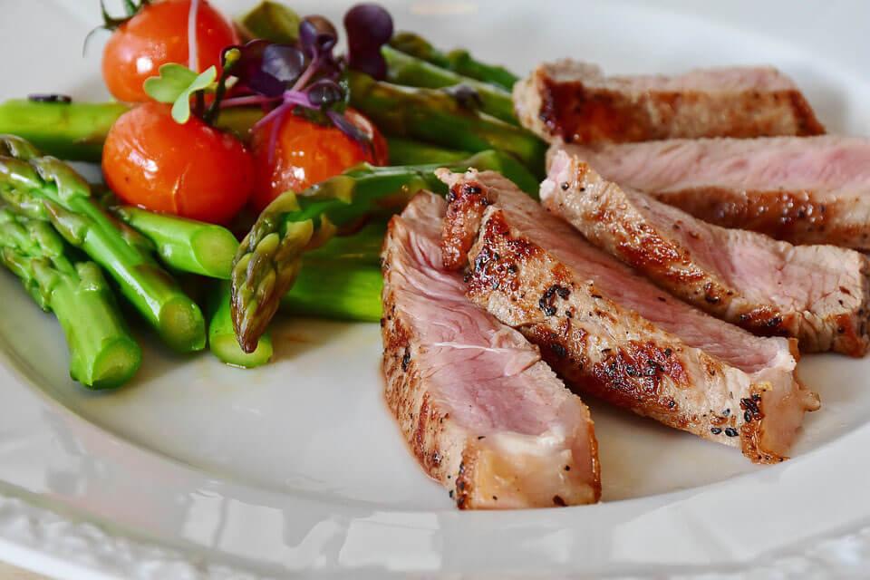 Tenderized steak